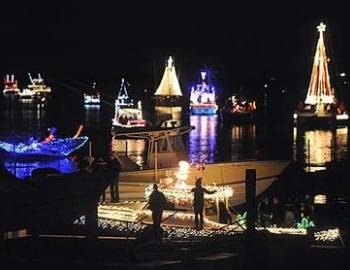 North Carolina Holiday Flotilla Boat Parade & Fireworks