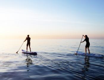 standup paddleboard ocean