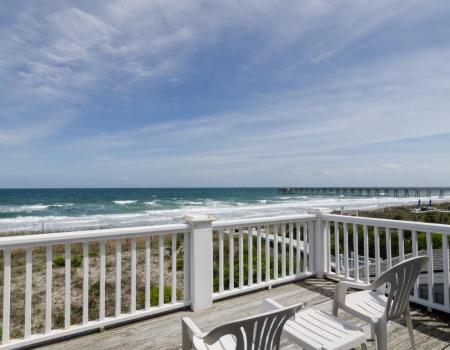 Ocean view from a Wrightsville Beach property