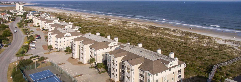 Wrightsville Dunes condo rentals along Wrightsville Beach