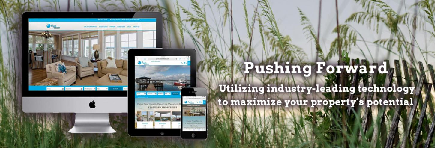 Bryant Real Estate website on various devices