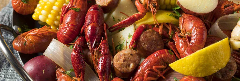 Seafood Boil & Corn