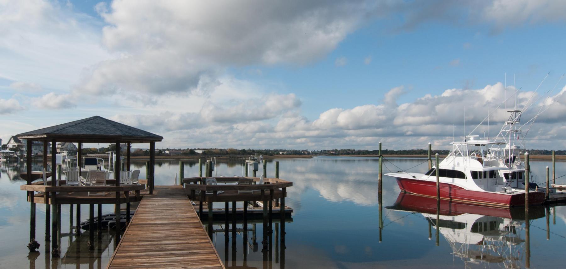 Boat Dock in North Carolina