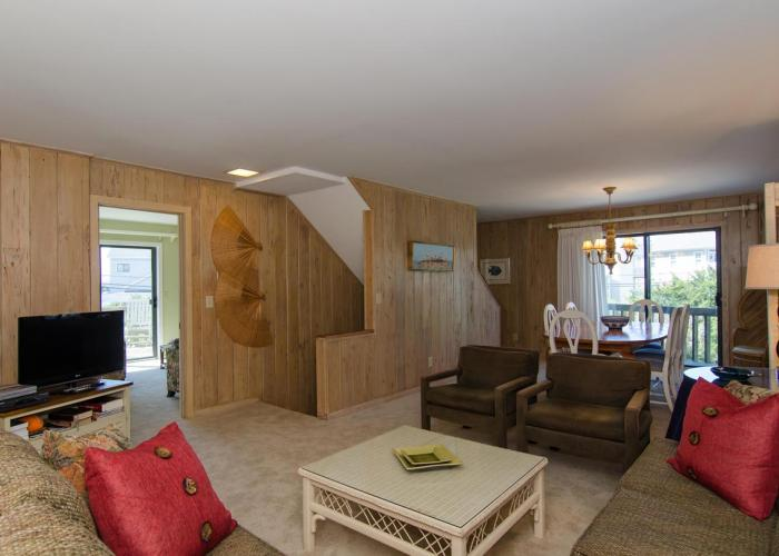 Living Room of Wrightsville Beach Vacation Rental