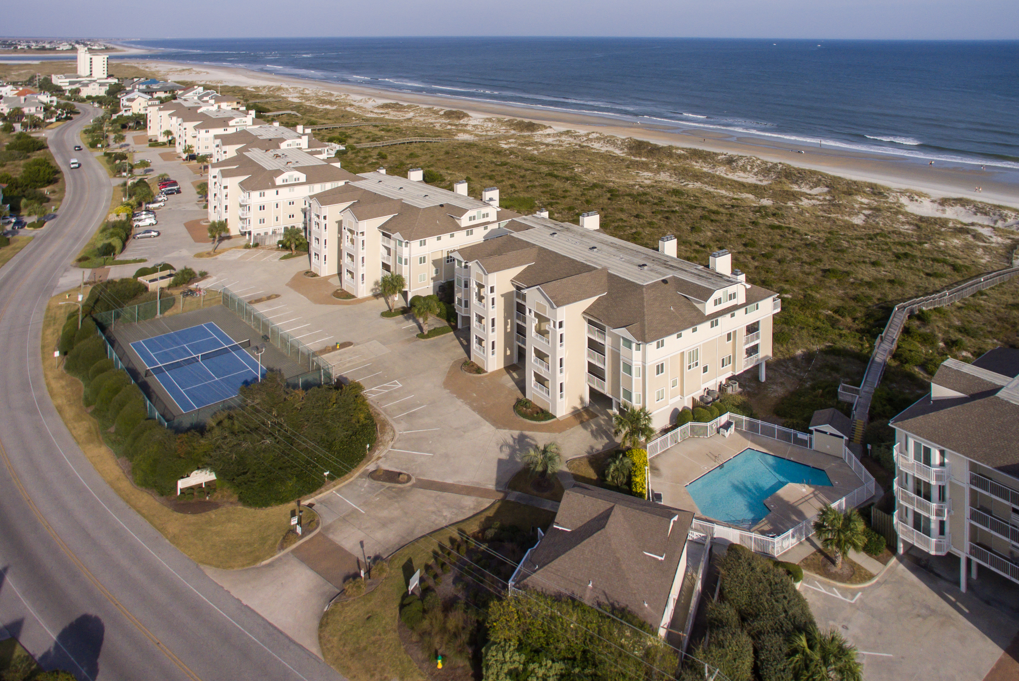 If You Need A Three Bedroom Condo Facing The Ocean On North End Of Wrightsville Beach Dunes Is Place For