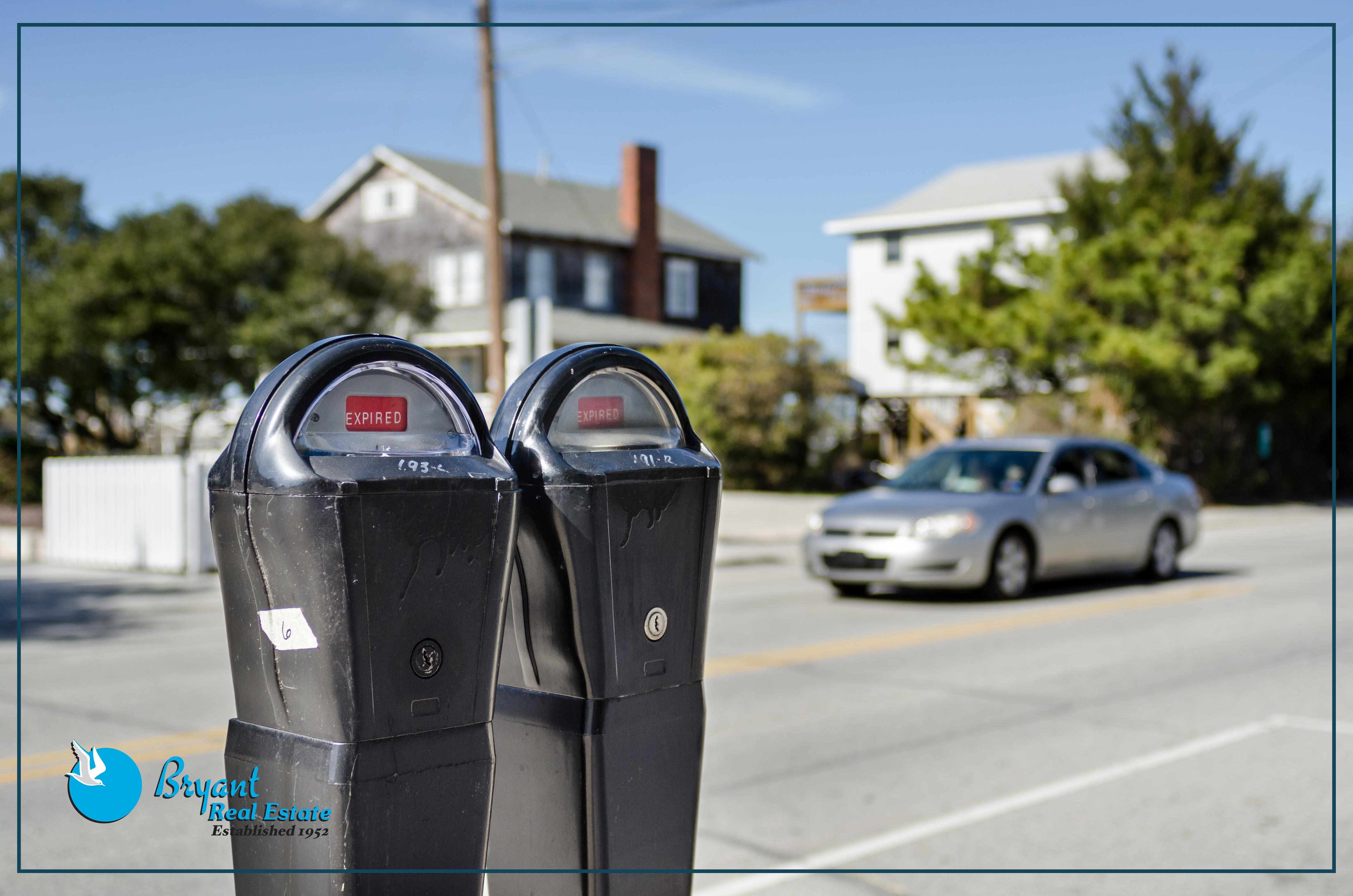 North Carolina Beach Parking Meters